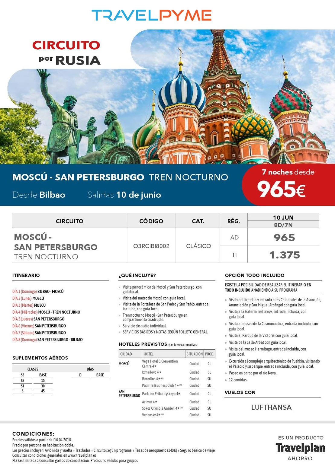 MOSCU-SAN PETERSBURGO 10JUN18 BIO